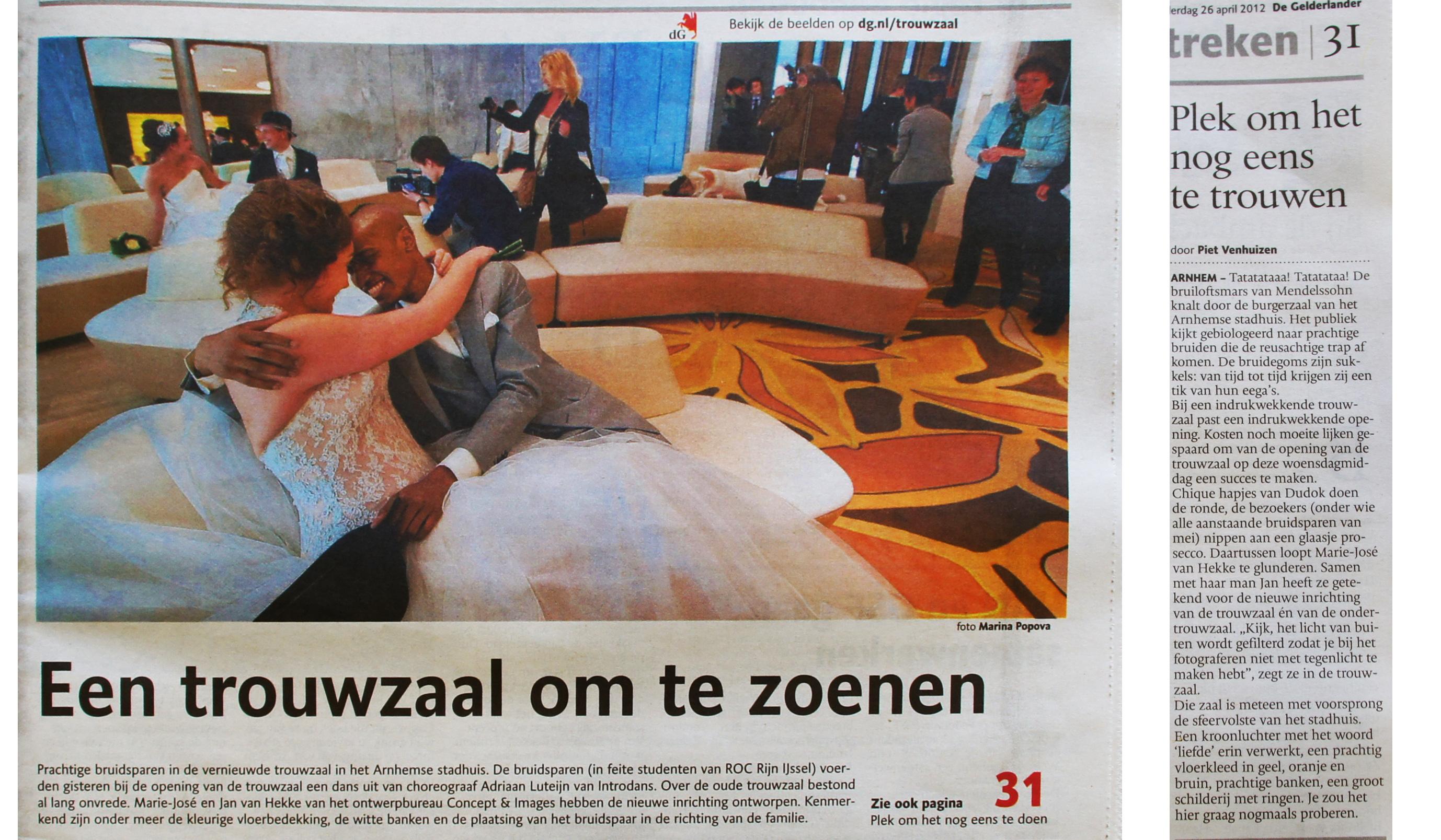 artikel_de_gelderlander_trouwzaal_arnhem