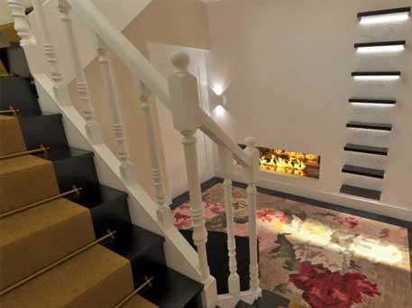 Restyling trappenhuis villa