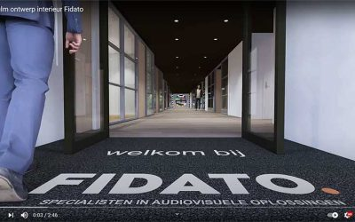 3-D film ontwerp interieur Fidato